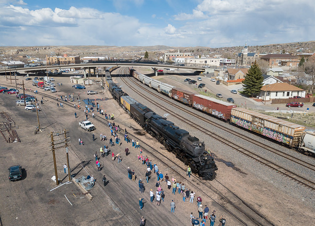 Union Pacific UP 4014 (4-8-8-4) Big Boy Rock Springs, Wyoming