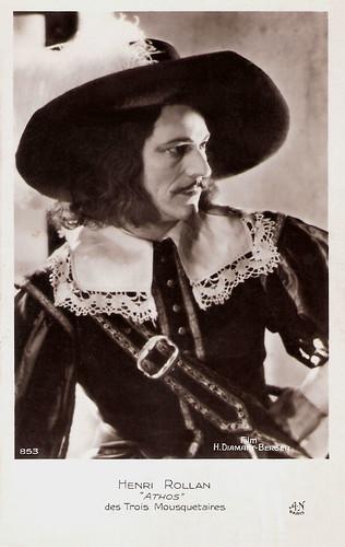 Henri Rollan in Les Trois Mousquetaires (1921)