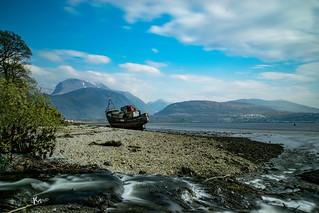 Ben Nevis and the Corpach Wreck