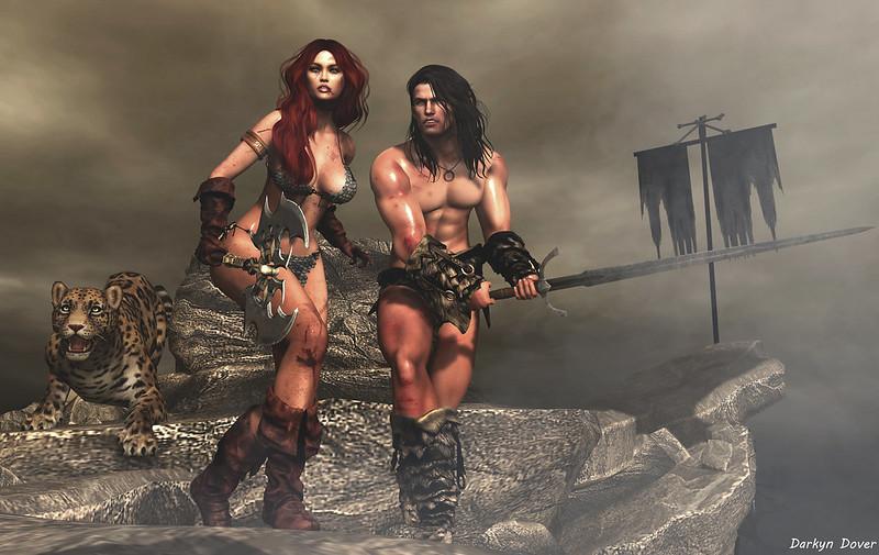 RedSonja&Conan