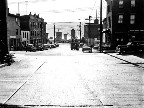 Hudson Ave Looking West 1952