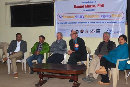 Murari Sharma, Jangbu Sherpa, Glenn Nyberg, Daniel Mazur, Scott MacLennan, Sunita MacLennan. From Daniel Mazur and the redemption of Mt. Everest