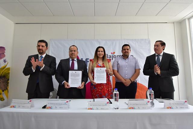 Firma de Convenio Entre Dif Tlajomulco e IJA