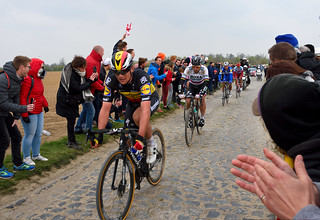 Paris Roubaix 2019 - Sector 4 - and the winner is.... Philippe Gilbertt