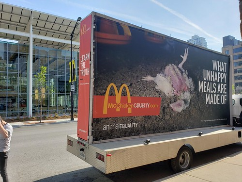 Chicago Mobile Billboard | by Animal Equality International