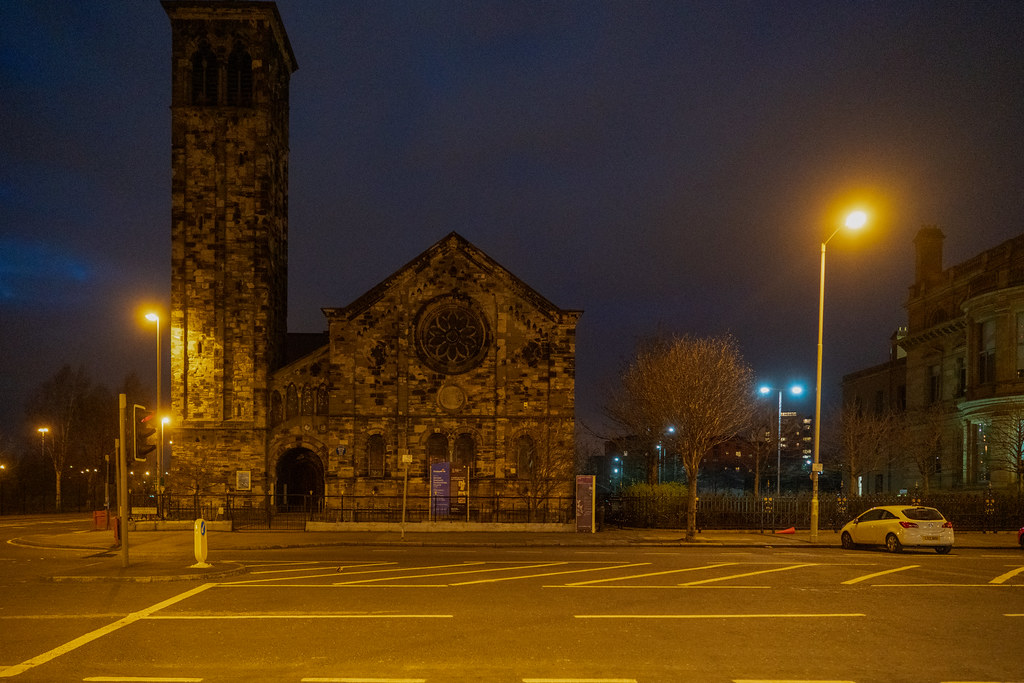 BELFAST AT NIGHT - YORK STREET AREA AND NEARBY 004