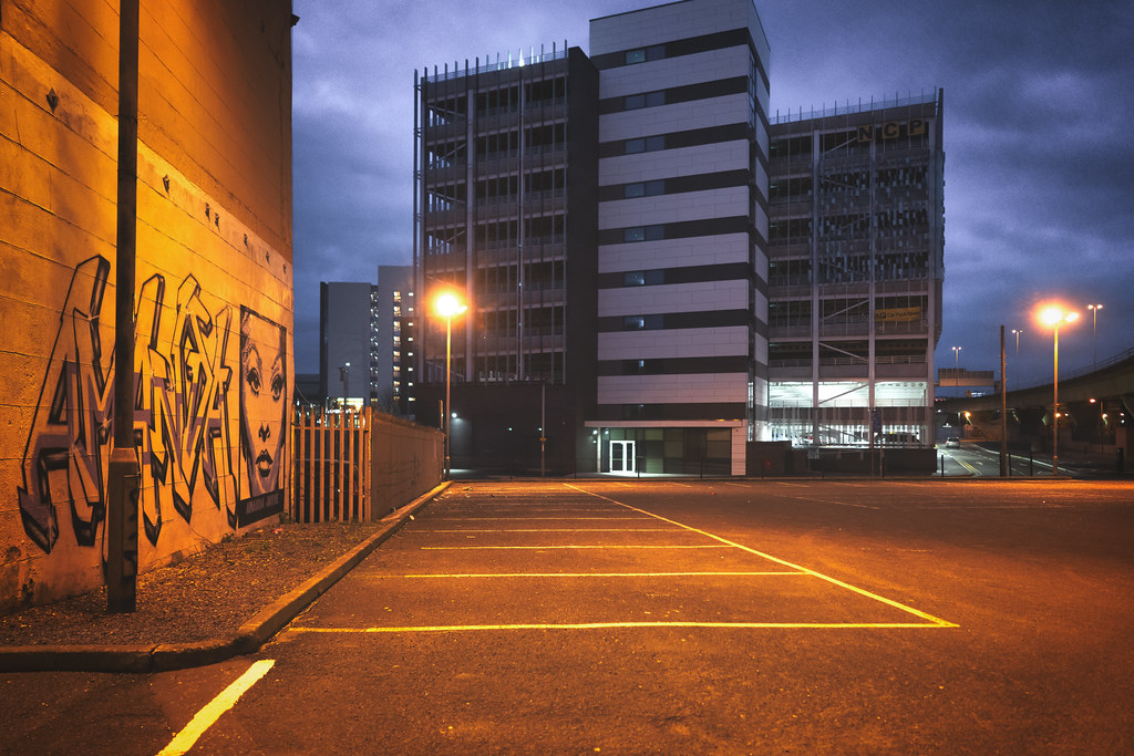 BELFAST AT NIGHT - YORK STREET AREA AND NEARBY 016