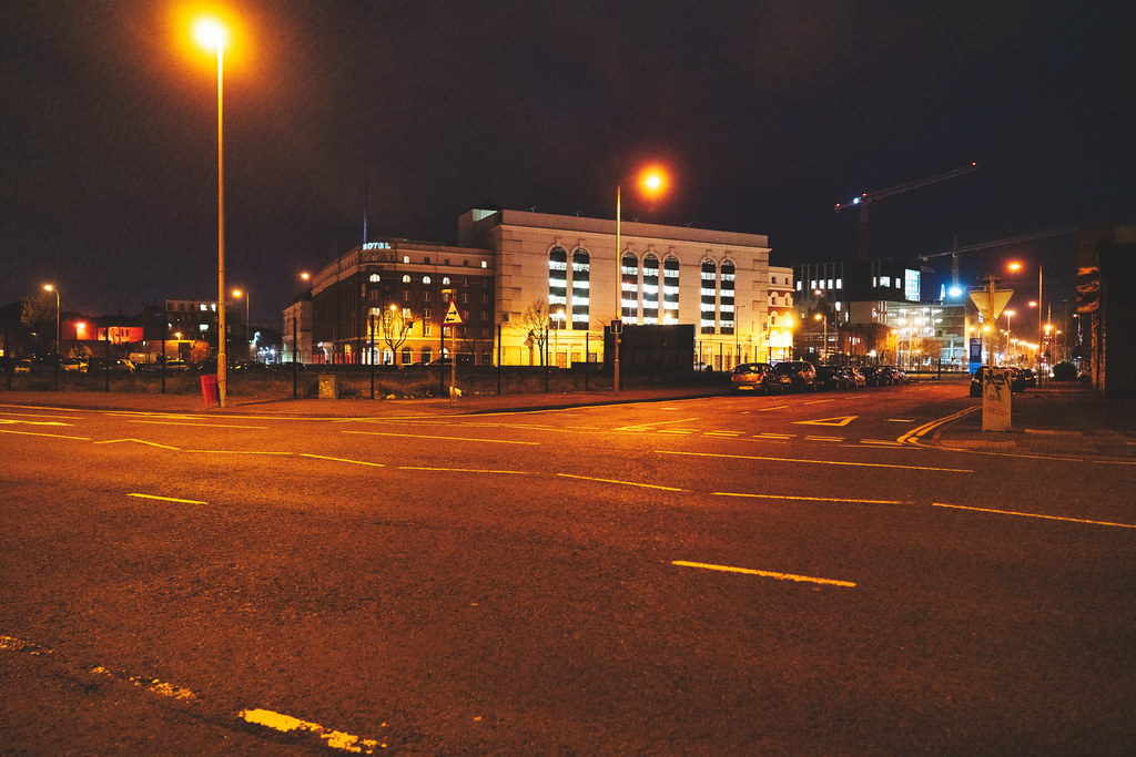 BELFAST AT NIGHT - YORK STREET AREA AND NEARBY 001