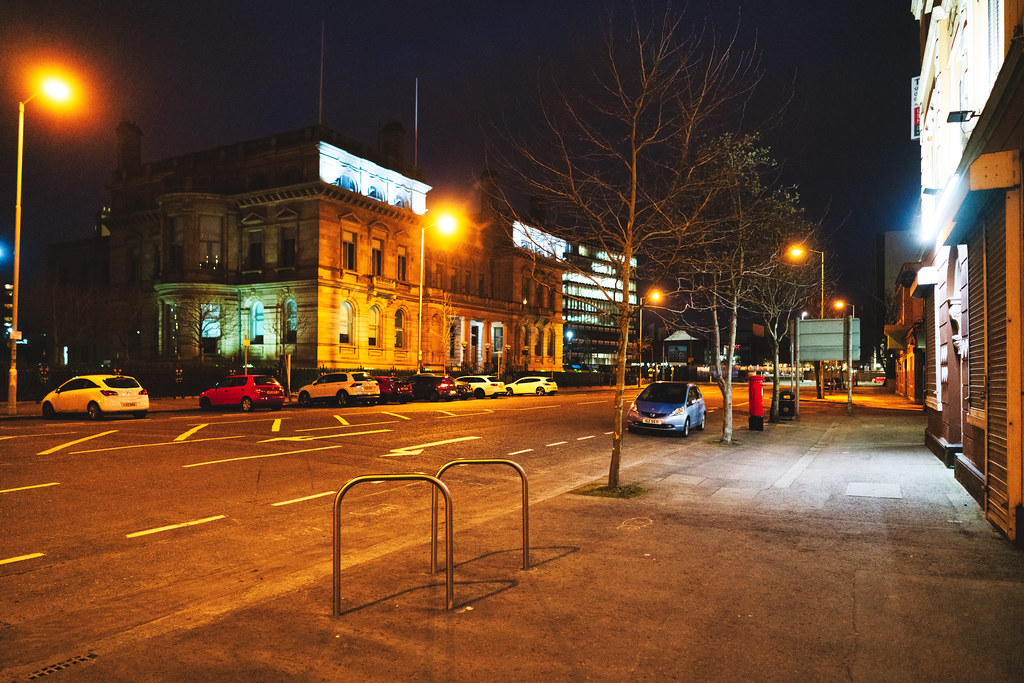 BELFAST AT NIGHT - YORK STREET AREA AND NEARBY 003
