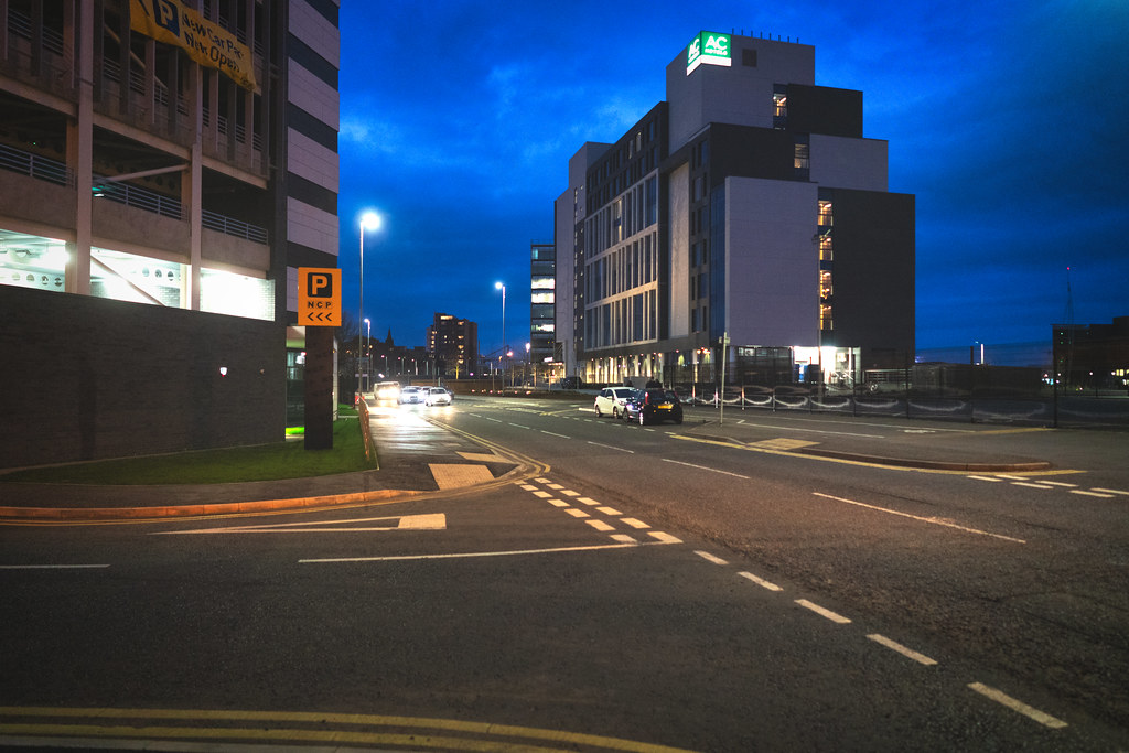 BELFAST AT NIGHT - YORK STREET AREA AND NEARBY 008