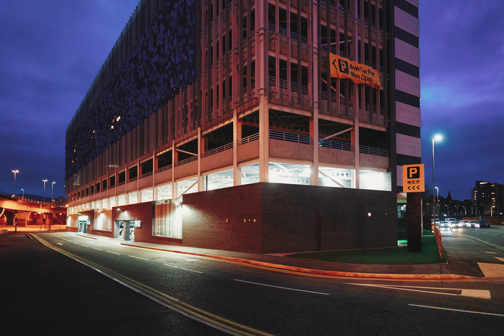 BELFAST AT NIGHT - YORK STREET AREA AND NEARBY 009