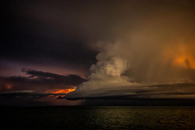 Storm @ Sunset
