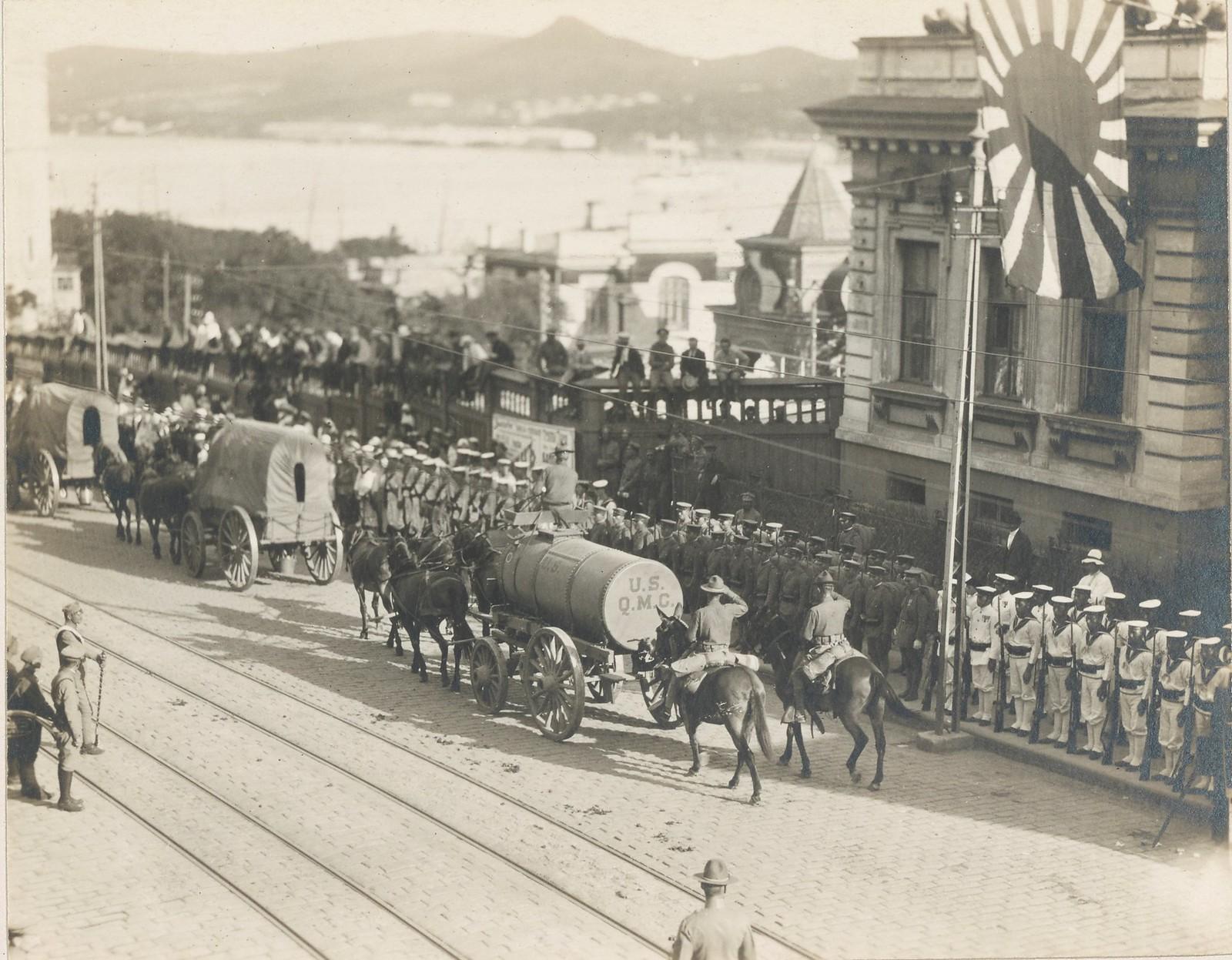 04. Американские войска прибывают во Владивосток
