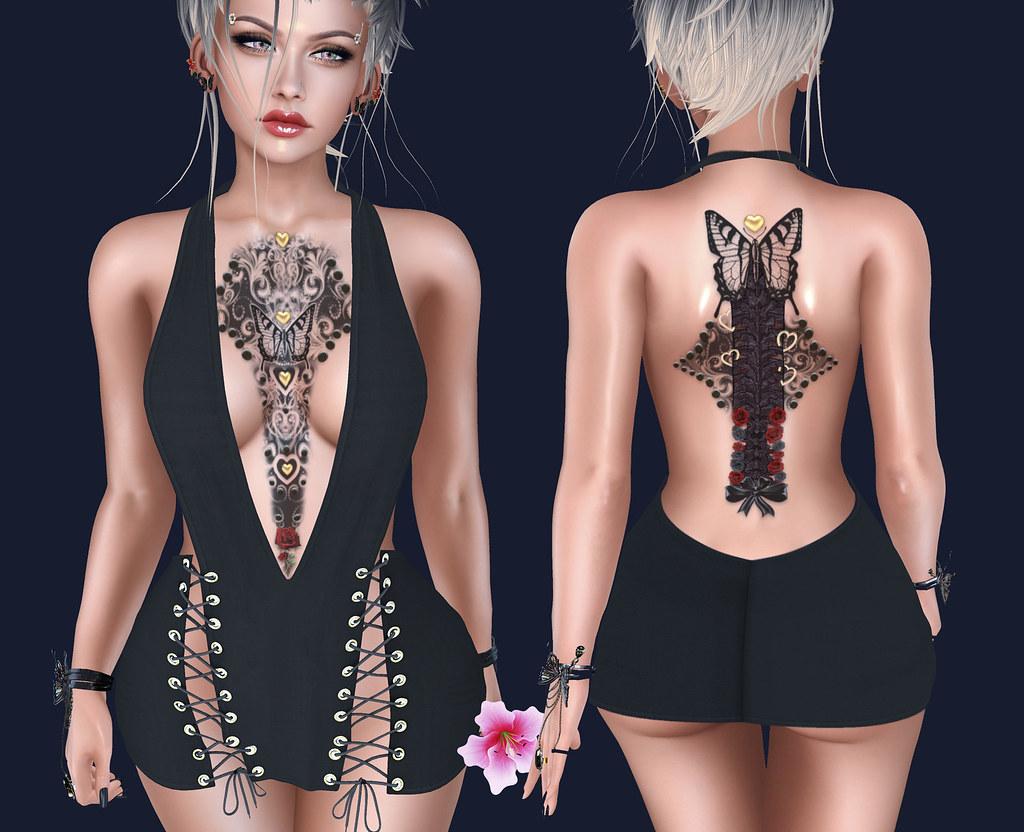 Papillon Noir Tattoo