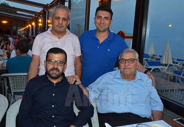 Bilal Öztürk, Şevki Erken, Ömer Göker, İhsan Erken.