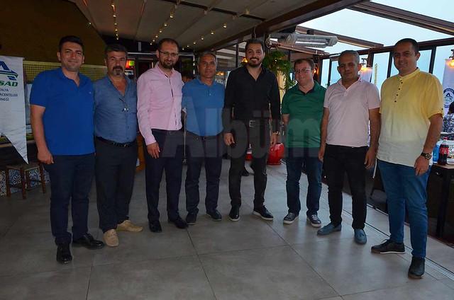 Sigortacılar iftar için Pasha'daydı