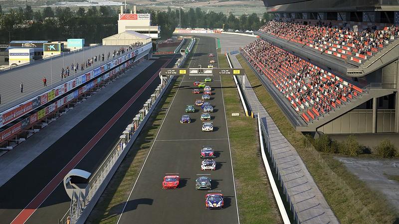 Assetto Corsa Competizione Helicam Previews 4