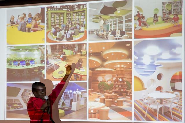 Hanawalt Think Tank Designs Media Center