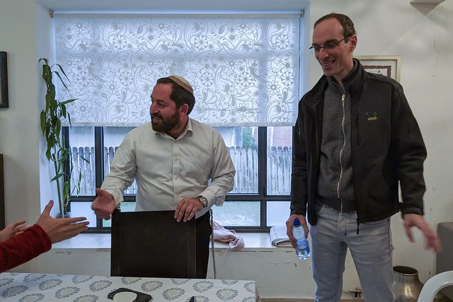 the jobial rabbi who lectured us on Zionism