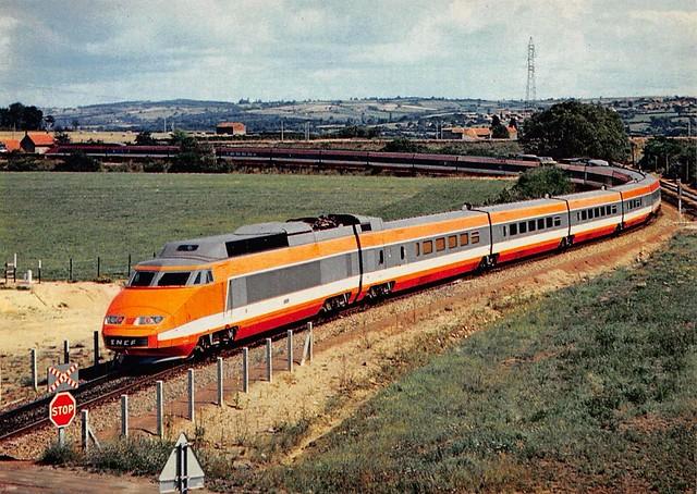 Train Tgv Paris Sud Est SNCF