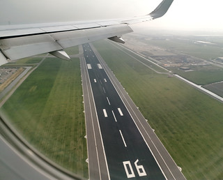Flying over Schiphol runway 06 | by vic_206