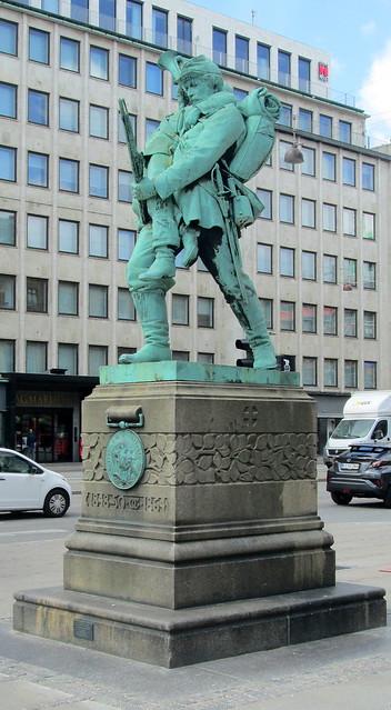 Memorial to the Schleswig-Hostein Wars, Copenhagen