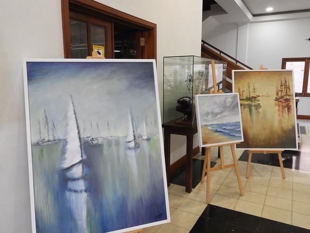 Exposición de  Silvia Díaz