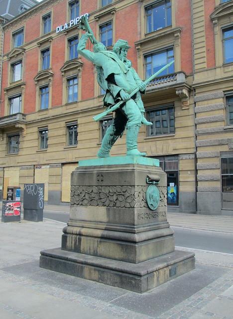Reverse View, Schleswig-Hostein Wars Memorial, Copenhagen