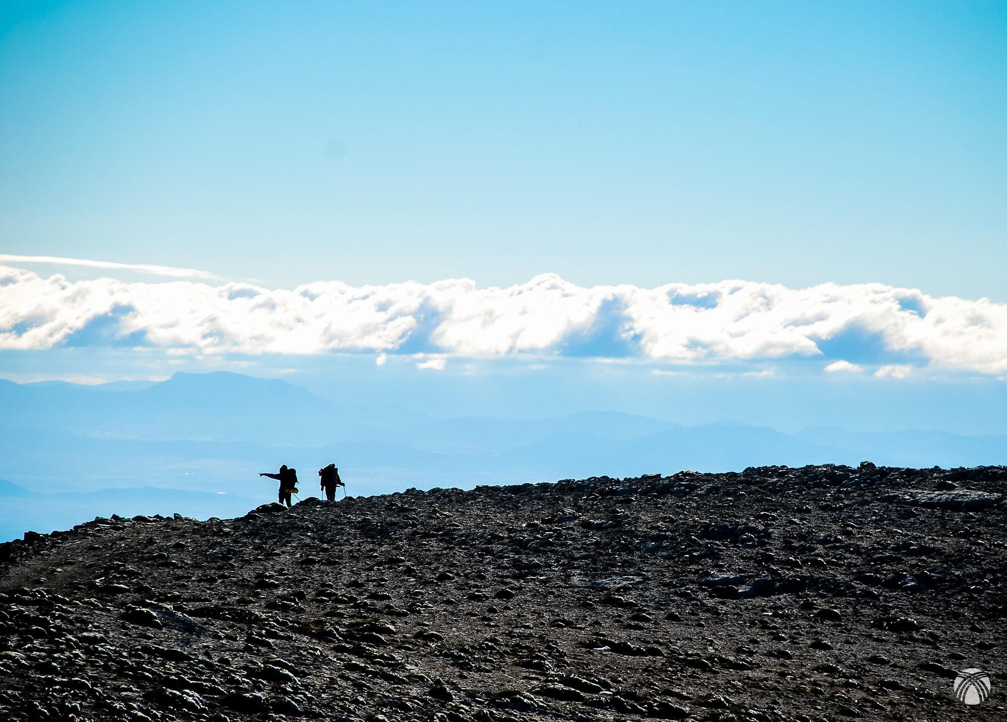Nubes sobre la Hoya de Baza