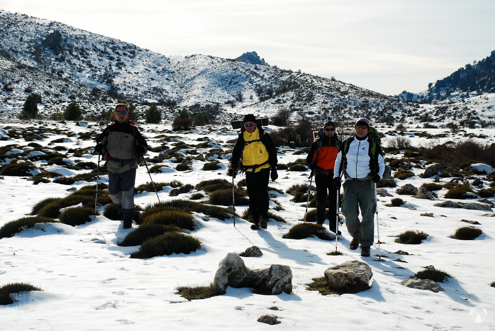 Nieve dura en perfecto estado