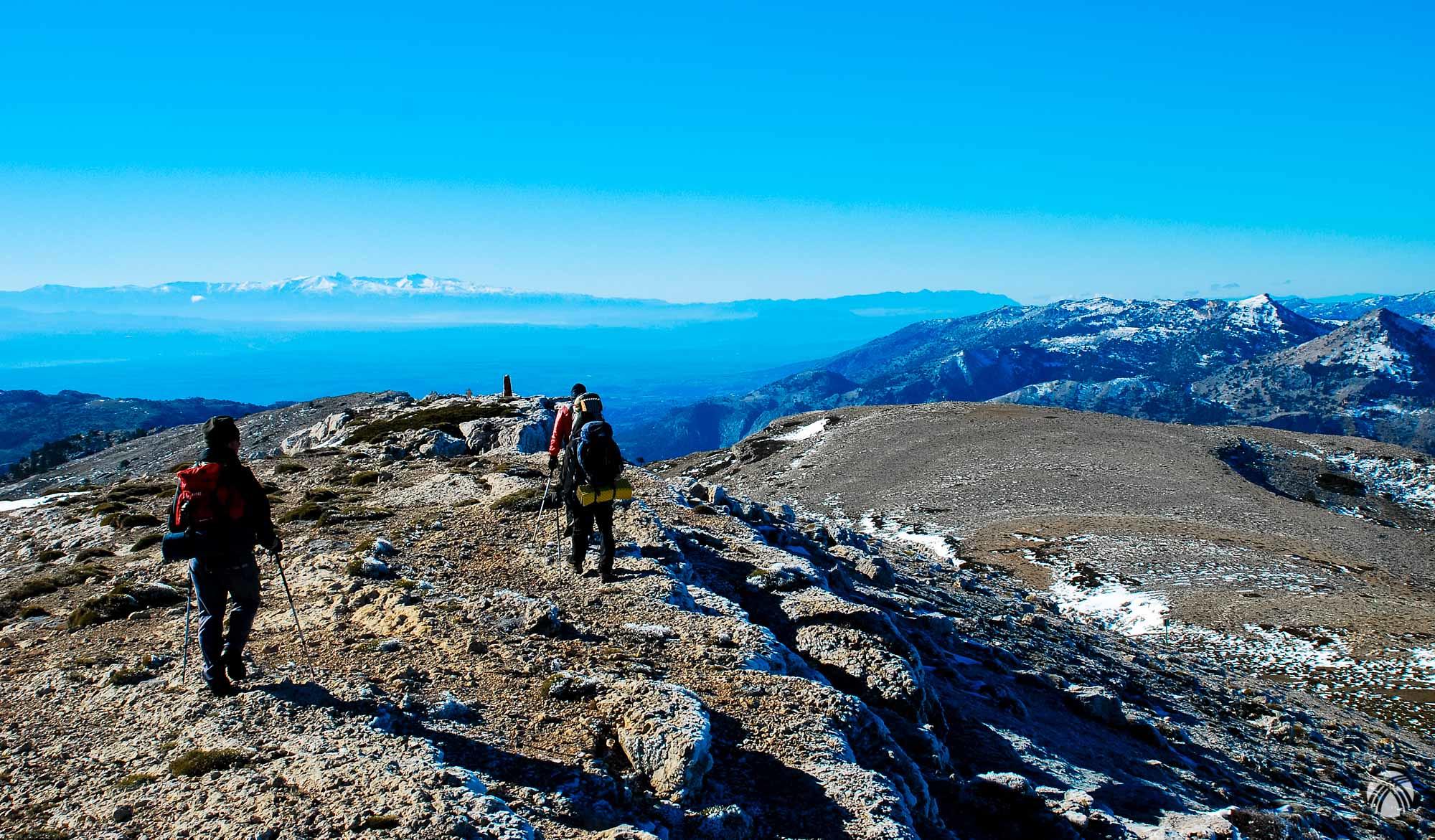 Llegando al Morro del Buitre