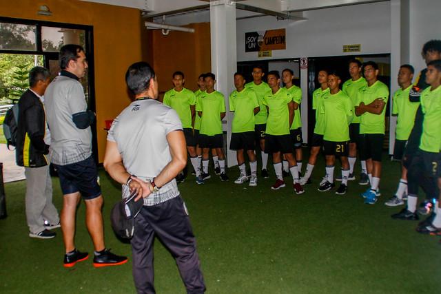 Sesion de entrenamiento Dvo Tachira FC 270519