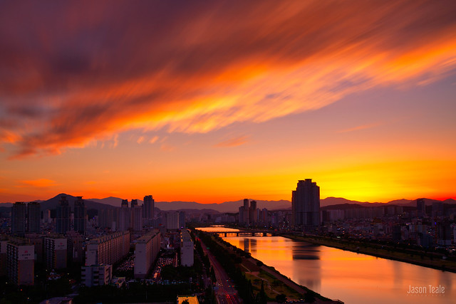 Sunset in Ulsan