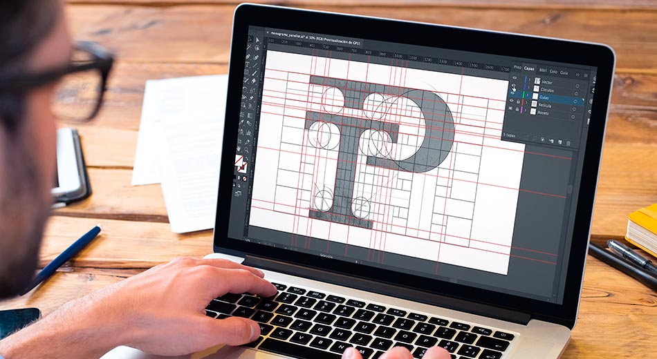 Guía definitiva sobre el uso de retículas en el diseño de logos: verdades y mentiras