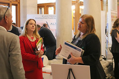 Rep. Haines attends CT Made Day at the Capitol featuring Connecticut based producers.