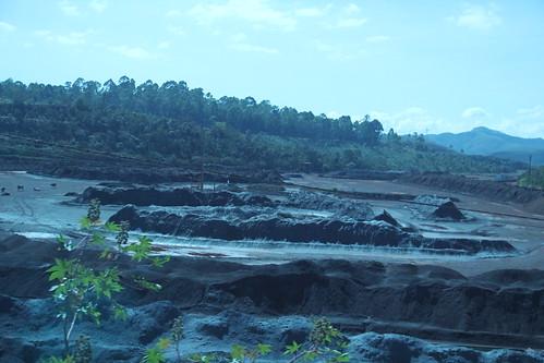 Visita técnica para Vistoriar a Mina Fábrica - Barragens Forquilha I, II e III, em Ouro Preto-MG com a finalidade de verificar as condições de segurança e estabilidade destas barragens