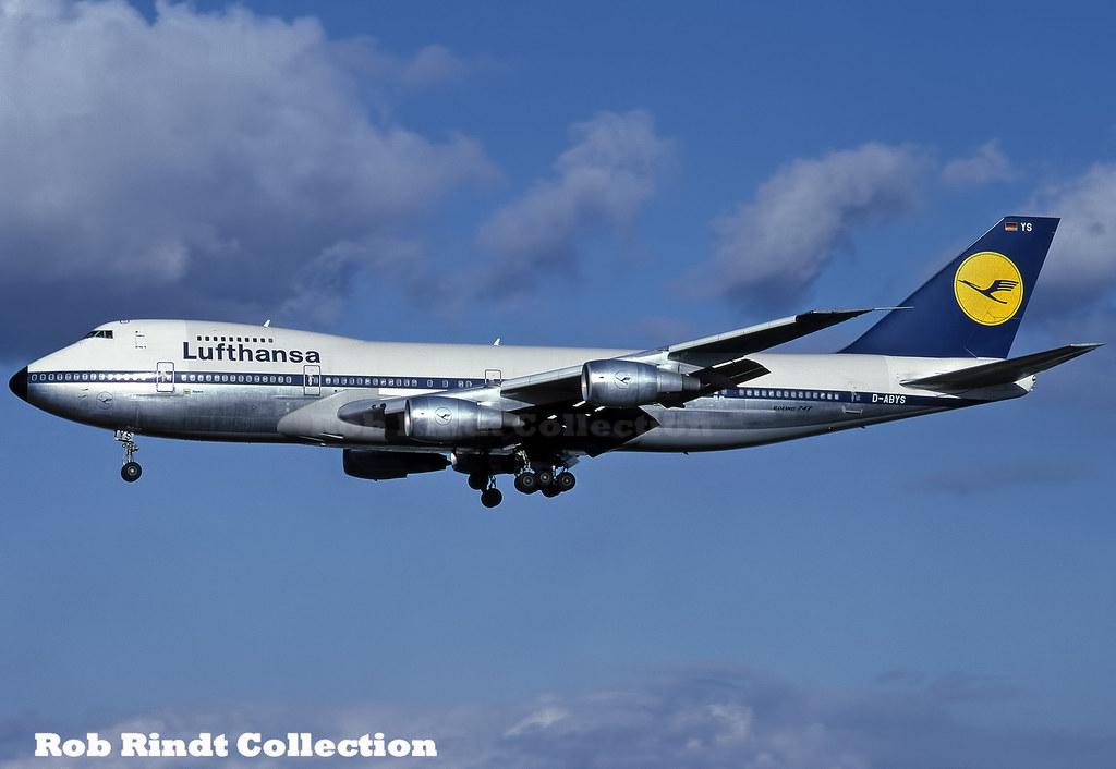Lufthansa B747-230B D-ABYS