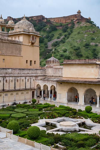 Amer Fort Courtyard