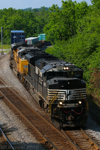 NS 376, North Wye, Faulker,KY 5/28/2019 | by Bluegrass Railfan
