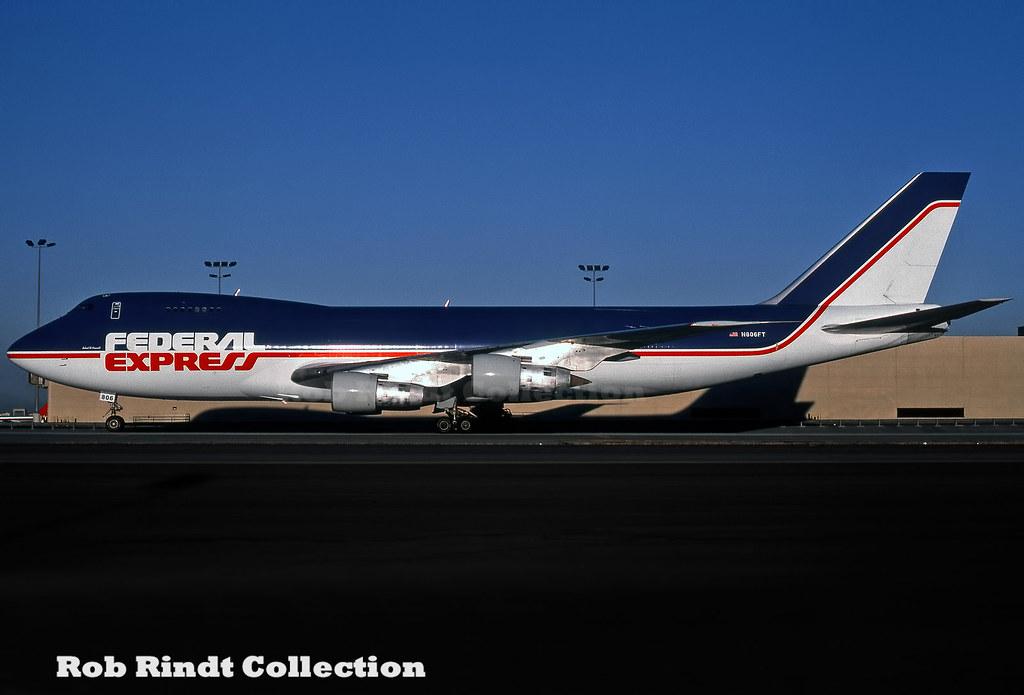 Federal Express B747-249F/SCD N806FT