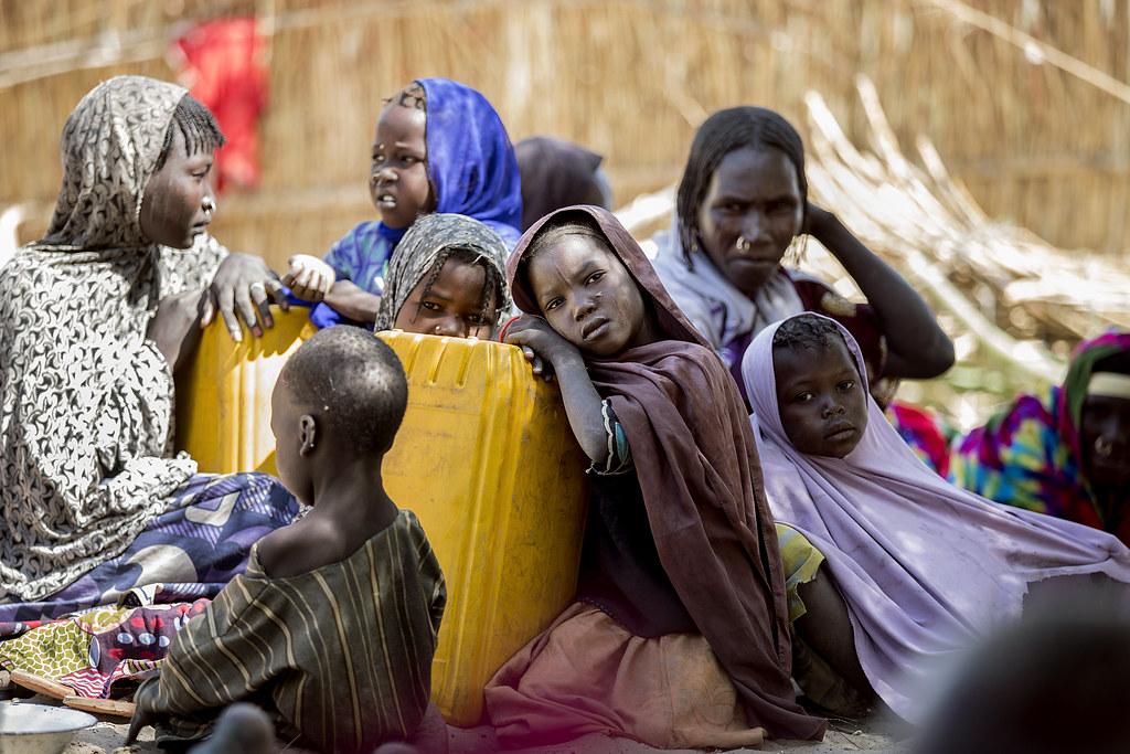 查德的氣候難民。Utenriksdepartementet UD(CC BY-NC-ND 2.0)