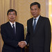 President Nakao meets People's Republic of China (PRC) Finance Minister; signs MOU on pollution management and climate change
