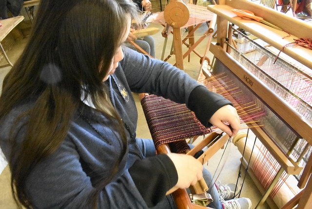 Shepherd's Harvest Class - SAORI Weaving