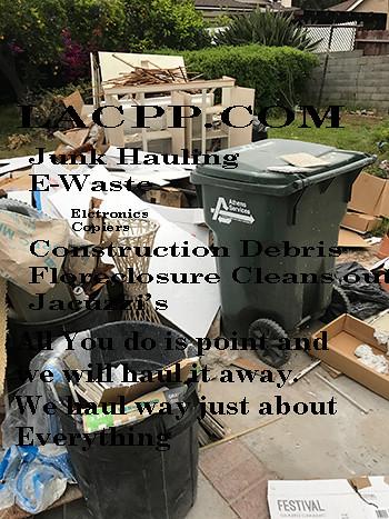 Haul Away Junk Montebello Los Angeles County Property