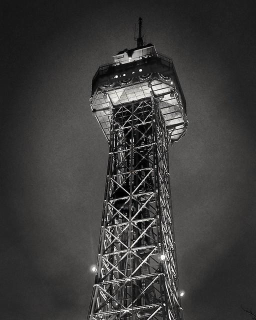 #kingsdominion #tower #virginia #richmond #themepark #eiffeltower #spire
