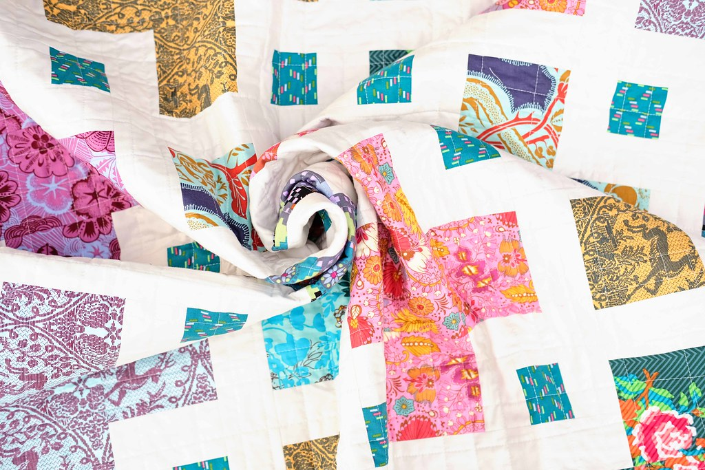 The Violet Quilt - Kitchen Table Quilting