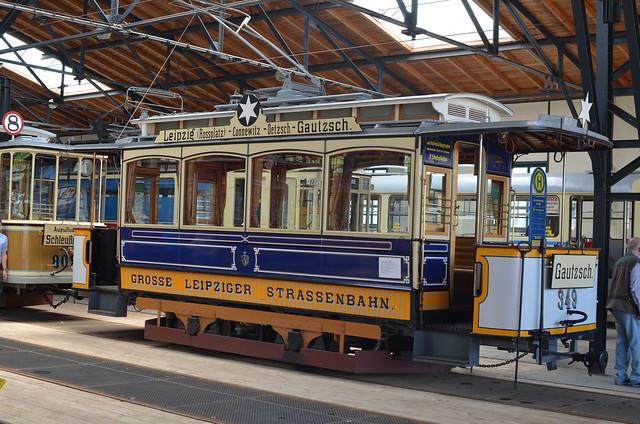 Straßenbahnmuseum Leipzig