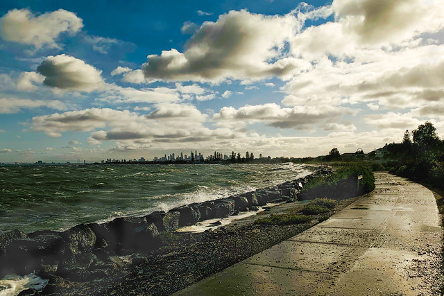 Windy Melbourne