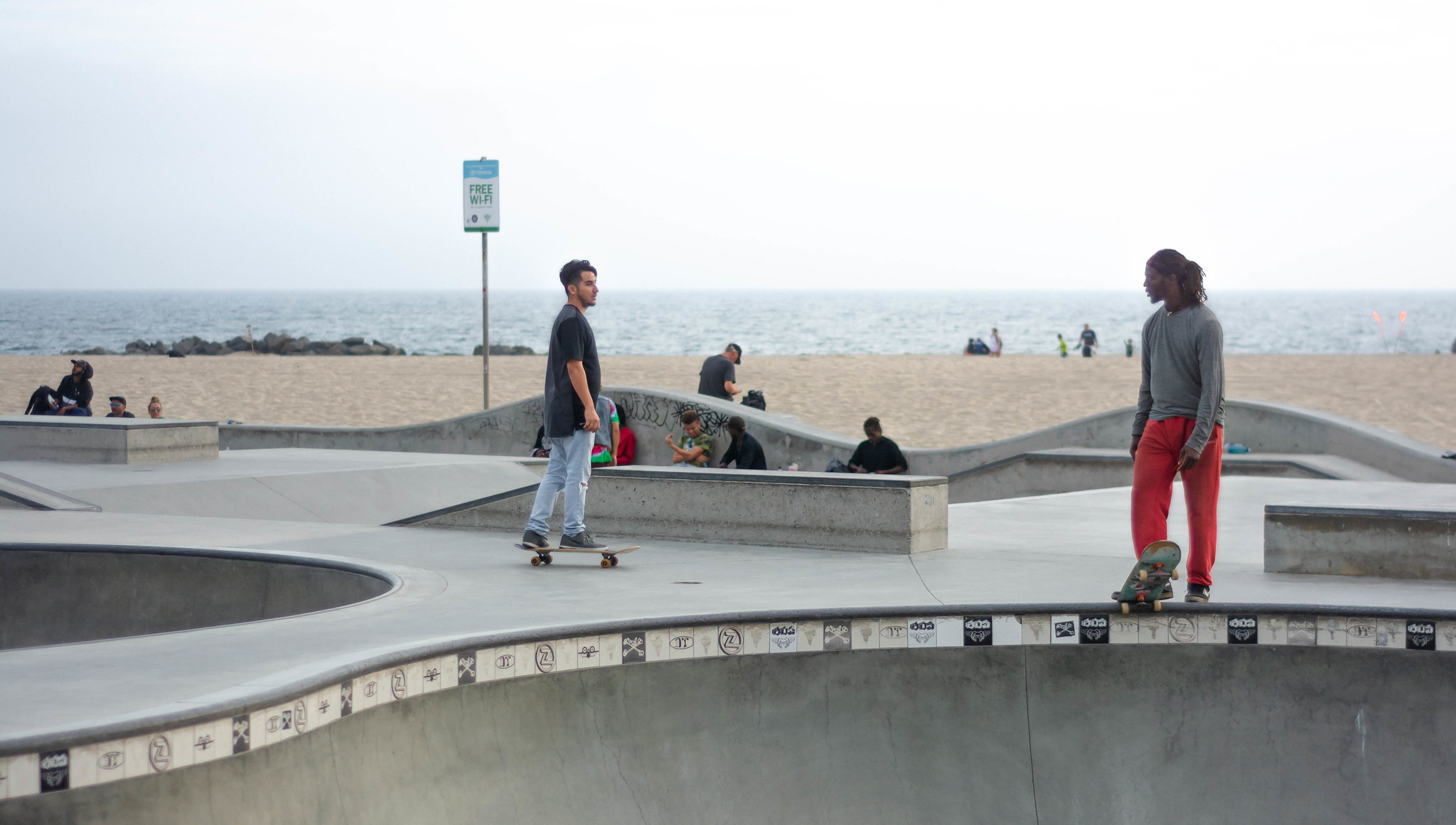 A Beachfront Palette