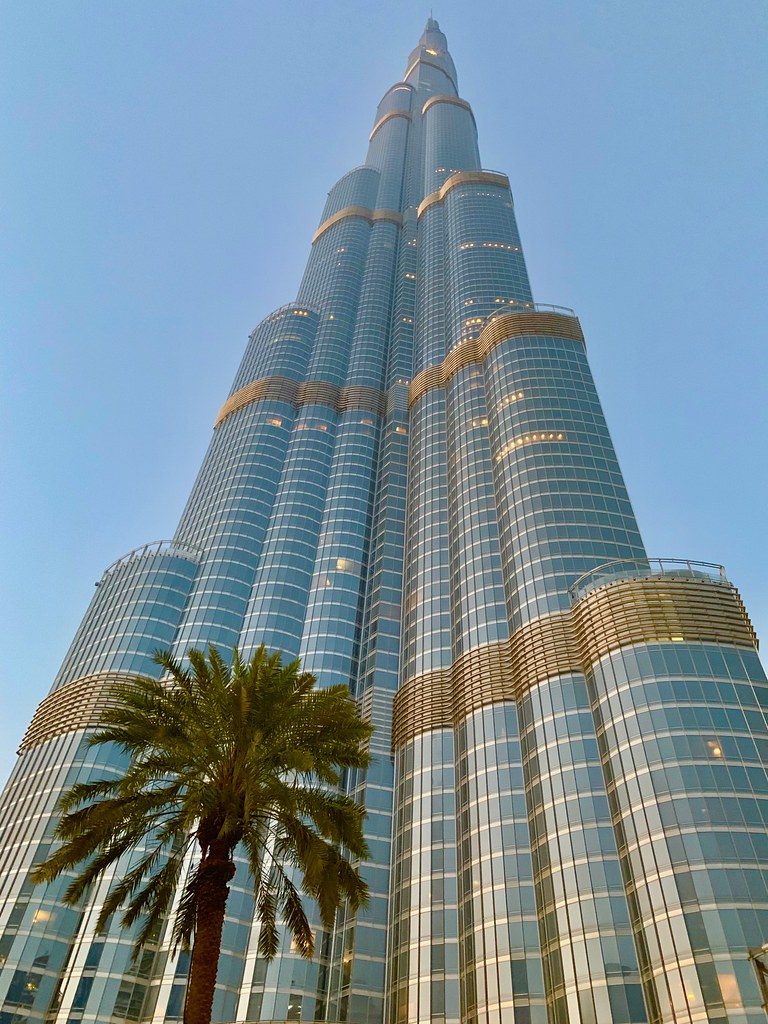 Burj Khalifa Tallest Building In The World The View From